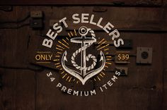 Only Best Sellers – Mega Bundle! #fonts #script #design #logo #vintage #type #typography
