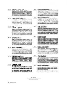 portfolio /// some work on the Behance Network #original #typefaces