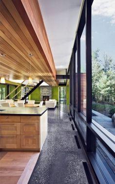 WANKEN - The Blog of Shelby White » Hurteau-Miller Cottage #interior #kariouk #concrete #associates #design #wood #architecture
