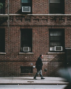 Moody Street Portrait Photography in New York City by Jongwoo Kim