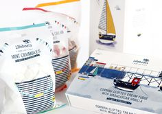RNLI - Packaging - Vicki Turner #packaging #illustration