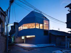 House in Matsubara by Fujiwaramuro Architects
