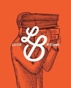 Leitor Bertrand artwork / by Vera Gomes #lettering #branding #design #graphic #typography