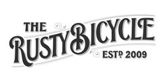 Typeverything.com The Rusty Bicycle by Ged Palmer #bicycle #logo #rusty