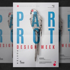 Parrot flyer template Free Psd. See more inspiration related to Pattern, Brochure, Flyer, Poster, Mockup, Business, Abstract, Cover, Book, Template, Geometric, Brochure template, Magazine, Layout, Leaflet, Presentation, Flyer template, Stationery, Mock up, Poster template, Creative, Modern, Booklet, Report, Minimal, Annual and Mock on Freepik.