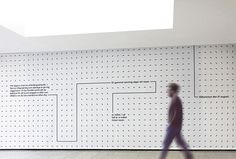 A-TO-B by Stockholm Design Lab #wall #symbol #pattern #minimal #grey
