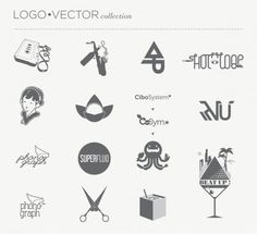LOGO • VECTOR collection #logotype #identity