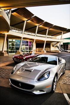 "desertmotors: "" 2010 Ferrari California and 250GT Pininfarina Series II Cabriolet """
