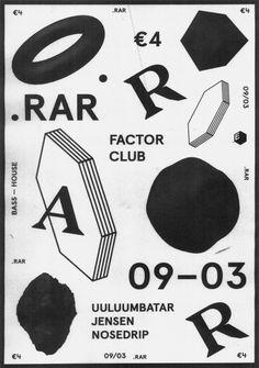 timobonneure: Poster for .RAR by Josse Pyl, Stef Michelet, Timo bonneure #print