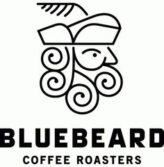 Friday Likes 04 - Brand New #logo #coffee #line art #swirls #monostroke #bluebeard