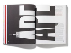 Spreads, layout, magazine