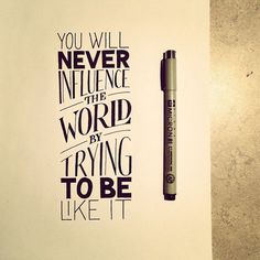 Wonderful Hand Lettered Quotes