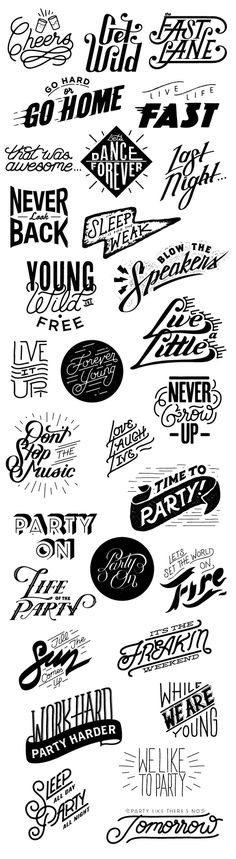 Studio Design App Lettering on Behance #lockups