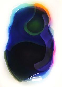 Peter Zimmermann – Sandysea P., 2010, 200 x 145 cm, Airbrush / Epoxid auf Leinwand