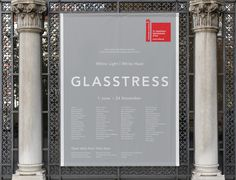 Glasstress White Light / White Heat — Venice Biennale on Behance #layout #poster #typography
