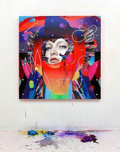 painting erik jones art abstract canvas