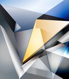 Opticality #geometry #geometric #triangles #abstract