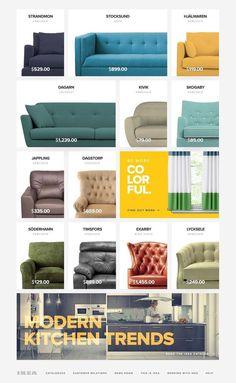 IKEA Web Redesign – UI and UX Design