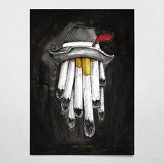 #cem's cigar #black #poster #wallart #cigar #hat #santoshkalwar
