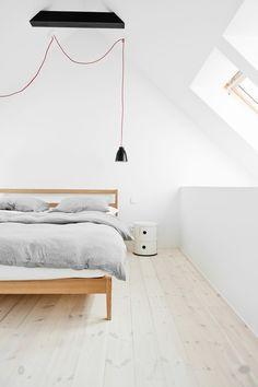 Flat in Dolina Słońca by Loft Szczecin. #flatindolinaslonca #loftszczecin #bedroom #minimalism