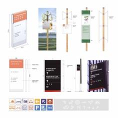 Scenic spot wayfinding | Signage | Sign Design | Wayfinding | Wayfinding signage | Signage design | Wayfinding Design | environmental design | 国外景区导视设计合集