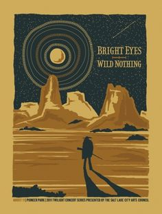 GigPosters.com - Wild Nothing - Bright Eyes