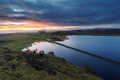 Exploring iceland photography nature beautiful new by Lukas Furlan hiking landscape sunset mountain water sea lake waterfall sky clouds stun