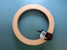 chris kabel: wood ring bench