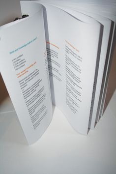 Self Promotion #clips #report #fan #booklet #leaflet #typography