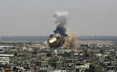 Israel launches military offensive against... | Yahoo News Photos #photo #israel #bomb