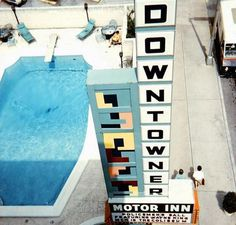 The Downtowner #hotel #vintage #typography