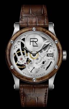 Introducing The #RalphLauren Automotive Skeleton Steel Watch