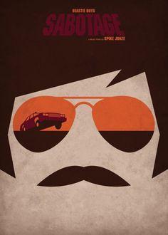 Beastie Boys #sabotage #boys #beastie #poster