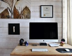 Collection of rooms 22 WorkSpace Edition @ ShockBlast #office #wood #desk #room #mac