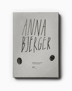 Swedish artist Anna Bjerger's book of works 2013—2017 designed by Scandinavian design studio Bedow