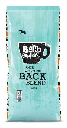 Bach Espresso Packaging by Coats Design #design #packaging
