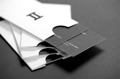FPO: Miner & Miner Business Cards #embossing #white #business #black #and #cards