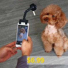 Adjustable #Selfie #Stick #for #Pet #- #BLACK