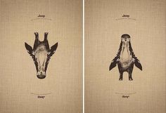 Reversal Illustrations For Jeep Campaign – Fubiz™ #print