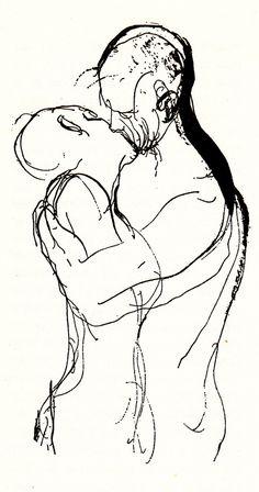 #kiss #lines #illustration #sketch