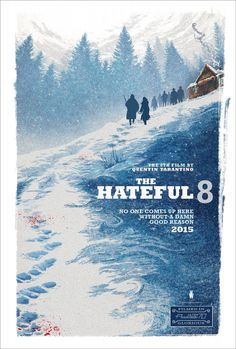 the hateful 8 movie poster cinema quentin tarantino