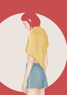 Illustration by Yuschav Arly #fashion #illustration