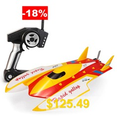 WLtoys #913 #Brushless #Two-way #Multi-function #High-speed #RC #Boat #- #YELLOW