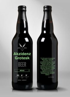 akzidenz grotesk beer #beer #lines #bottle #packaging #alcohol #design #color #akzidenz #label #simple #ag #grotesk #package #typography