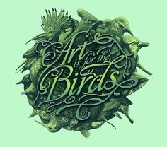 Transistor Studios #birds #art #typography