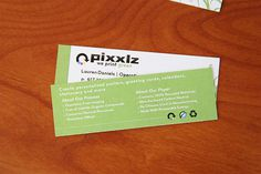 Green Business Cards Design Inspiration