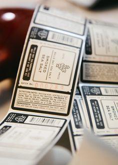 Salt Labels