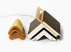 Toaster and Knife by Zlil Lazarovich #toaster #minimal