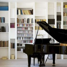 The Design Chaser: Homes to Inspire | Danish Loft Apartment #interior #piano #design #deco #decoration