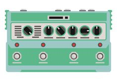 DL4 Delay Modeler Line 6 #pictogram #line6 #icon #icons #grid #delay #music #pedal #green